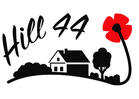 Logo holiday farm Hill 44 Passchendale Ypres Belgium